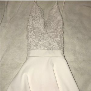 Homecoming white Windsor dress!